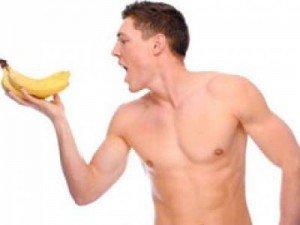 Chuối có tác dụng tốt cho sức khỏe của nam giới