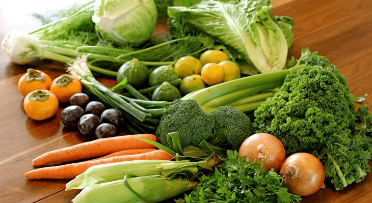 Rau xanh có lợi cho sinh lý