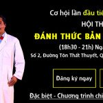 Hội thảo đánh thức bản lĩnh đàn ông tại Hà Nội