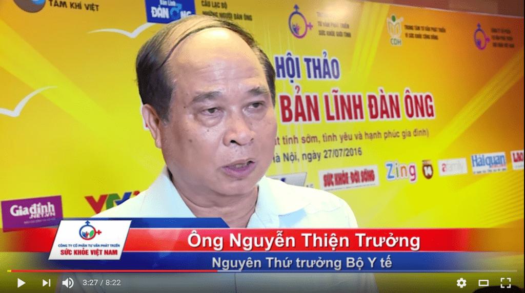 Tiến sĩ Nguyễn Thiện Trưởng - Nguyên thứ trưởng Bộ Y Tế là cố vấn cấp cao của chương trình ODC-NBT