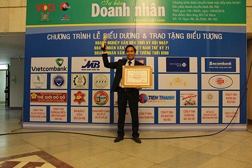 Nguyễn Bá Toàn - doanh nhân văn hóa Việt Nam thế kỷ 21