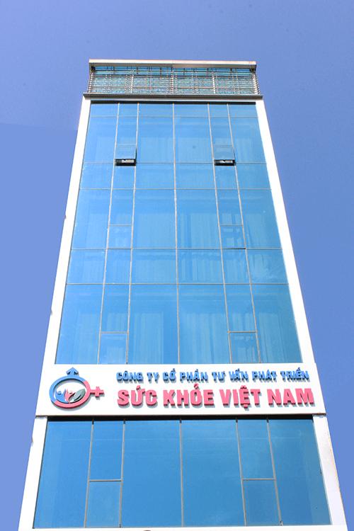 Trung tâm tư vấn phát triển sức khỏe Việt Nam có trụ sở tại tầng 4 Tòa nhà số 62 Nguyễn Khang, Cầu Giấy, Hà Nội