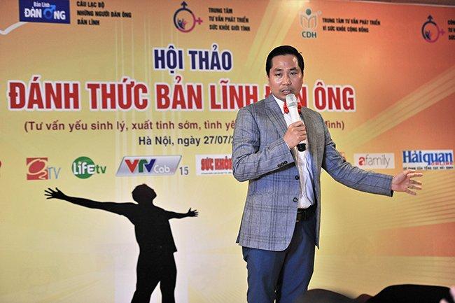 Chuyên gia tư vấn sức khỏe giới tính Nguyễn Bá Toàn - người chia sẻ chính tại chương trình