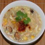Nấm linh chi nấu súp cua-món ăn cho nam giới yếu sinh lý