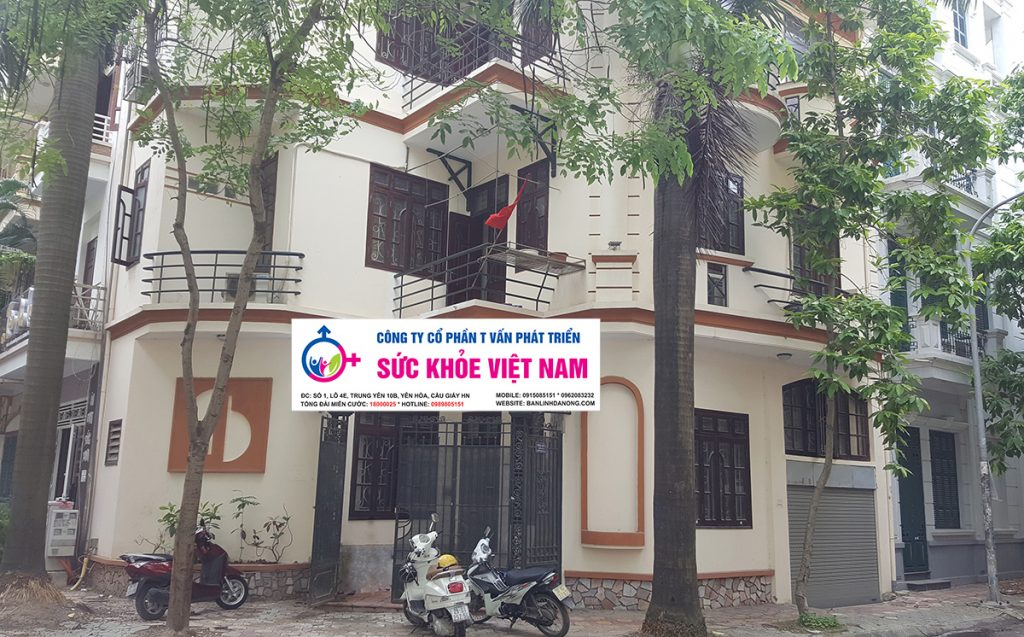 Trung tâm tư vấn chăm sóc sức khỏe giới tính tọa lạc tại Biệt thự số 1, Lô 4E, đường Trung Yên 10B, Yên Hòa, Cầu Giấy, Hà Nội
