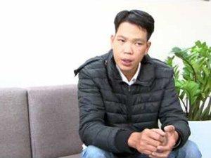 Anh Khánh Đức 34 tuổi chia sẻ niềm vui của mình